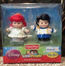 New Fisher Price Little People Disney Princess Bride Ariel & Prince Eric 2012