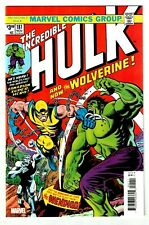 INCREDIBLE HULK #181 (NM+) 1st Appearance of WOLVERINE! Marvel Facsimile Edition