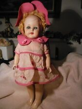 """Early 18"""" composition  doll"""