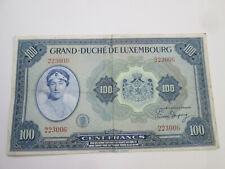 Banknote: Grand Duché De Luxembourg, 100 Cent Francs, American Bank Note Company