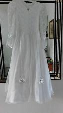 Kommunionskleid Kleid Kommunion Gr 152 Einzelanfertigung Top Zustand hochwertig
