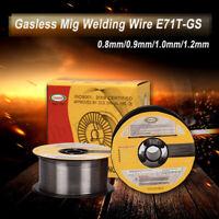 0.8/0.9/1.0/1.2MM 0-8-E71T-GS Mig sans gaz Fil de Soudure Fourré à Souder Câble