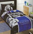 Licensed BLUE Storm Trooper STAR WARS QUEEN Duvet/Doona/Quilt Cover SET BNIP
