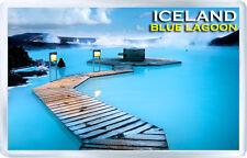 ICELAND BLUE LAGOON FRIDGE MAGNET SOUVENIR IMAN NEVERA ISLANDIA