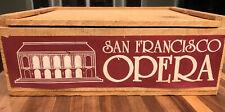 Vintage Set 6 Etched Bar Rock Glasses - OLD SAN FRANCISCO OPERA HOUSE + Coasters