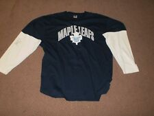Autographed Matt Stajan Toronto Maple Leafs Shirt-adult XL-Home Game Inc.
