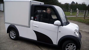 "E-Auto ""E-TIGER Van""   2- Sitzer  NEU   7,5 Kw    78 km/h  mit Lith-Io.Batterien"