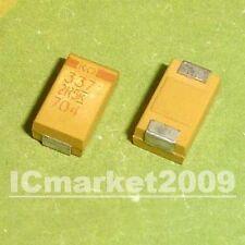 50 PCS 330UF/2.5V D 7343 SMD Type SMT Chip Tantalum capacitor 337 2R5 D Case
