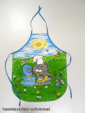Kinder Schürze Kochschürze Backschürze Küchenschürze Kinderwerkschürze KATZE