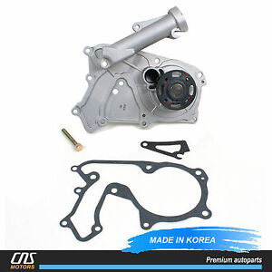Water Pump Fits 2006-2014 Hyundai Kia 3.3L 3.5L 3.8L DOHC V6 OEM 251003C100