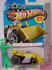 Case Q 2013 Hot Wheels SPEED DOZER #43 US Team☆Yellow☆HW City☆New Model