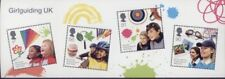 GB 2010 GIRLGUIDING UK MINIATURE STAMP SHEET MINT