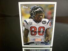 Andre Johnson Topps 2009 Card #13 Houston Texans NFL Football