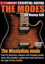 LICK LIBRARY LEARN MODES MIXOLYDIAN MODE VAN HALEN DVD ELECTRIC GUITAR RDR0390