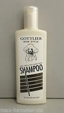 Dog Shampoo 300ml Shampoo with Natural Oil for White Dogs By GOTTLIEB NEW STYLE