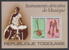 Togo Musical Instruments MS MNH SG#MS1191