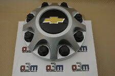 2011-2014 Chevrolet Silverado 2500 3500 Wheel Silver Center Cap new OEM 22781441