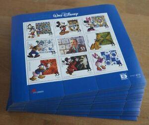 2001 Portugal; 200 Kleinbögen Walt Disney, **/MNH, MiNr. 2540/48, ME 1300,-