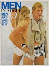 Jean-Loup Sieff BRIAN DUFFY Traeger VTG 60s ROLEX WATCH AD Men In Vogue magazine