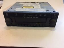porsche 911 993 996 boxster factory cdr 220 am fm cd radio works great
