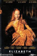 Elizabeth (1998) VHS Polygram Video  1a Ed. Cate Blanchett Attenborough