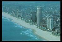 GOLD COAST SURFERS PARADISE BEACH in 1976 POSTCARD - NEW & PERFECT
