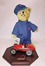 Schuco Tricky-Bear with Race Car, Limited Edition No, 711/ 1500