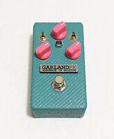 Garland FX PINK Drive Guitar Overdrive / Distortion Pedal - Custom Shop Build