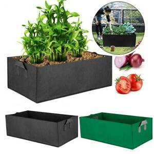 Reusable Large Garden Grow Bag Vegetable Planter Pot Tomato Potato Pocket Pouch