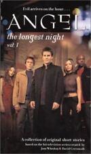 Angel The Longest Night, Volume 1 Paperback Book Joss Whedon Simon Pulse