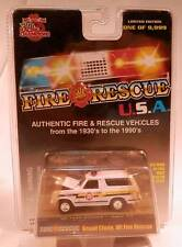 Racing Champions '80s Ford Bronco WI Fire & Rescue 1980-1986 Body Style 1/9,999