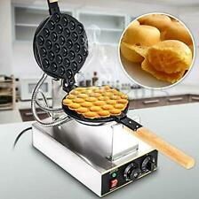 Waffle Maker Stainless Steel Non Stick Electric Egg Cake Oven Puff Bread Maker
