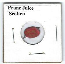 Prune Juice Chewing Tobacco Tag Tics Intact P674