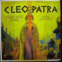 ALEX NORTH SOUNDTRACK cleopatra LP VG+ SF 20200 Vinyl  Record