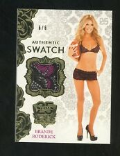 2019 Benchwarmer Gold Foil 25 Years Brande Roderick Swatch 6/6