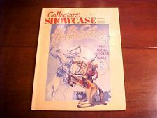 June 1989 Collectors' Showcase Vol 9 Issue 4 Antiques Collectibles Toys Dolls