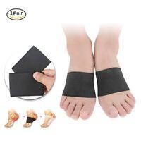 US Plantar Fasciitis Copper Arch Compression Brace Sports Sleeves Gel Foot Socks