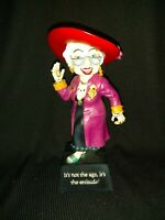 """Westland Biddys 12804 """" It's Not The Age, It's The Attitude"""" 04 Resin Figurine"""