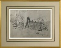 CHARLES WISLIN (1852-1932) SUPERBE PAYSAGE A PONT-AVEN BRETAGNE VERS 1908 (216)
