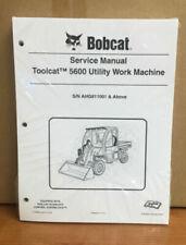 Bobcat 5600 Toolcat Utility Vehicle Service Manual Shop Repair Book 5 # 7179865