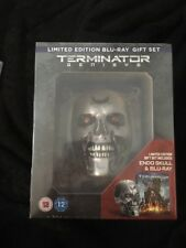 Terminator Genisys Limited Edition Blu Ray Gift Set Includes Endo Skull Sealed