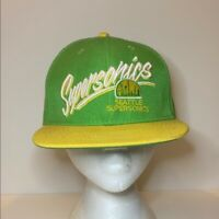 Vintage Seattle SuperSonics NBA Snapback Hat