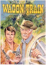 WAGON TRAIN, Ref. A - Limited Edition Hand Signed Walt Howarth Print