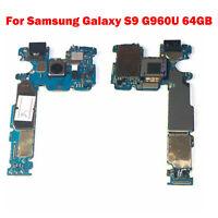 Mainboard Motherboard Logic Board Unlocked OEM For Samsung Galaxy S9 G960U 64GB