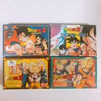 DRAGON BALL Z 1 2 3 GAIDEN 4 SET Famicom Japan games FC NES with Box and Manual