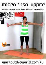 Barre Toning EXERCISE DVD - Barlates Body Blitz - MICRO an ISO UPPER!