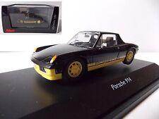 Schuco Porsche 914 noire échelle  1/43 en boite vitrine et surboite