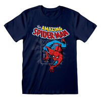 Spider-Man T Shirt Official The Amazing Marvel Spidey Superhero NEW S M L XL XXL