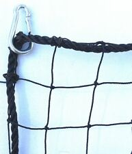 Baseball, Softball  Barrier Net,Knotted Nylon , #18  Black, 10' X 20' NEW!
