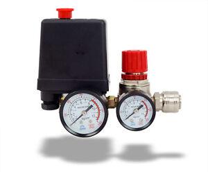 Druckregler mit Druckschalter für Kompressor Kompressorschalte 230V 8bar